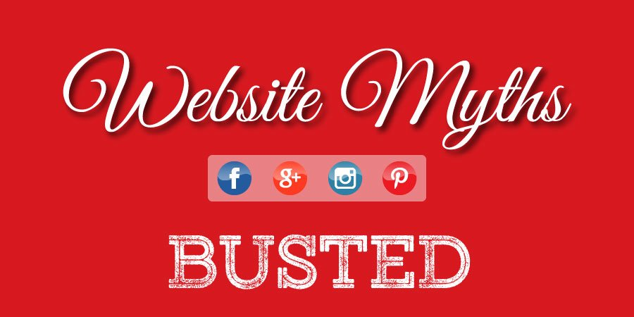 Website Myths Busted